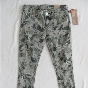Like new true religion floral camouflage